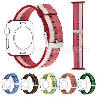 [Mã ELFLASH5 giảm 20K đơn 50K] Dây Nylon thay thế cho Apple Watch size 38/40/42/44