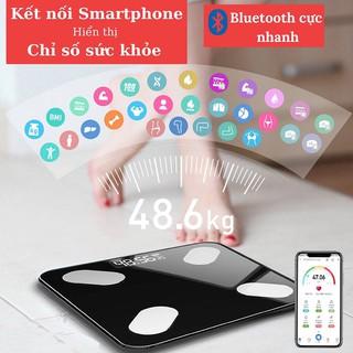 Cân Điện Tử APIDO Bluetooth Phiên Bản Mới Đo Chỉ Số Sức Khỏe BH 12 THÁNG
