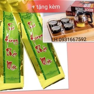 (Combo) 4 Trà Hoàng Thảo Mộc 500 gram tặng bộ bình pha trà