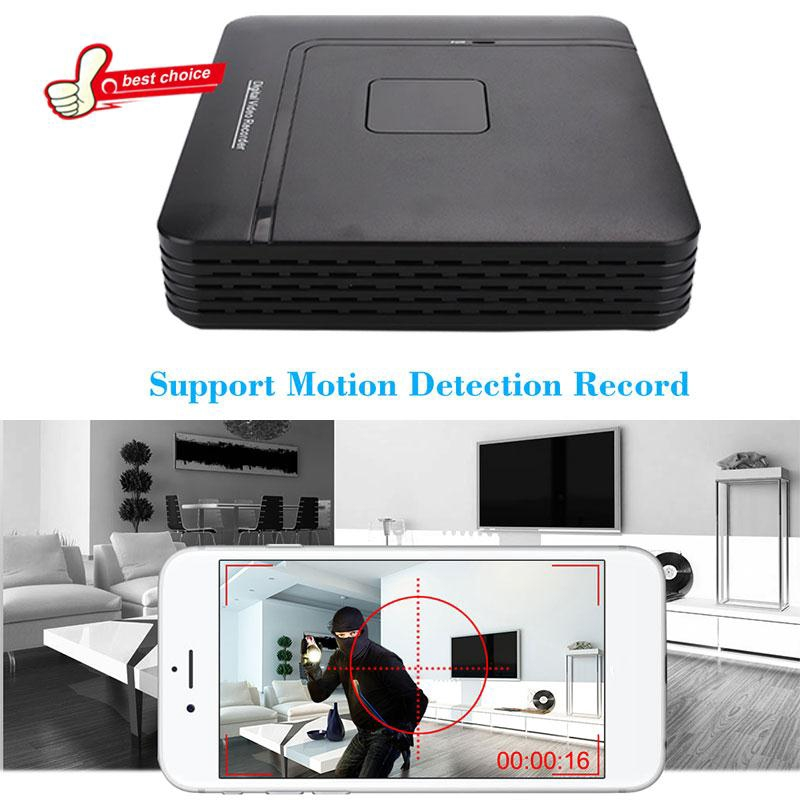 1080P 8CH DVR NVR POE Switch IP Camera Home Security Network