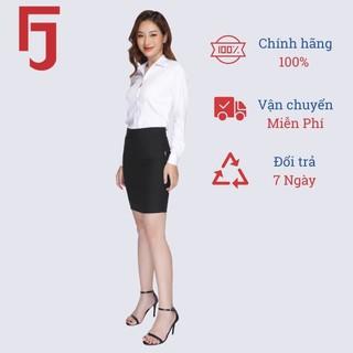 Áo sơ mi nữ công sở dài tay Thái Hòa, màu trắng vải sợi tre, kiểu dáng truyền thống 8919-01-01 thumbnail