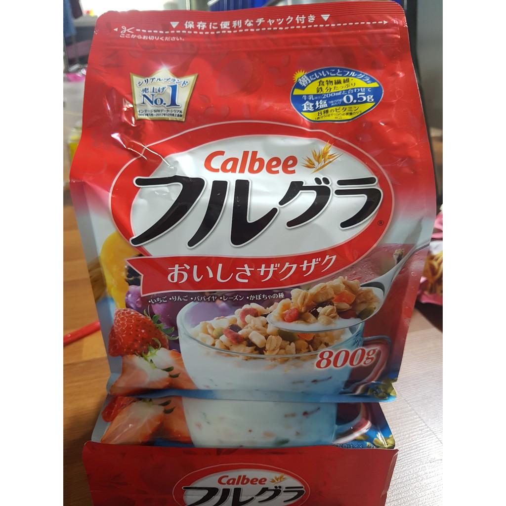 Ngũ cốc trái cây sấy Calbee Nhật Bản - 9956093 , 1265827164 , 322_1265827164 , 292000 , Ngu-coc-trai-cay-say-Calbee-Nhat-Ban-322_1265827164 , shopee.vn , Ngũ cốc trái cây sấy Calbee Nhật Bản