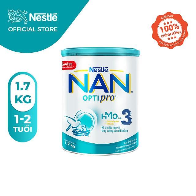 Sữa Bột Nestle NAN OPTIPRO 3 HM-O Hộp 1.7kg
