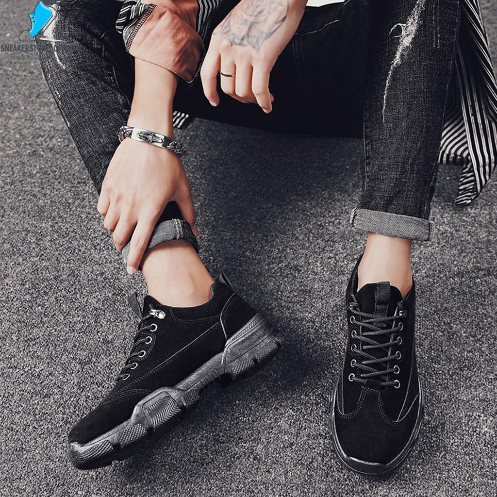 Giày Sneaker Nam - Giày Thể Thao Nam Hàng Quốc -  MS64 🎁+Tặng Kèm Tất Khử Mùi Cao Cấp