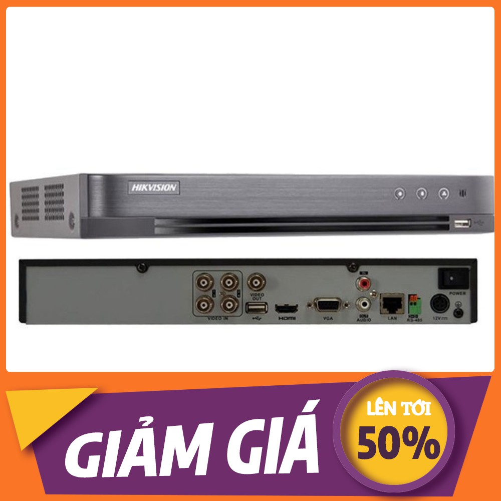 [💖] Đầu ghi hình 4 kênh Turbo HD 4.0 Hikvision DS-7204HUHI-K1[💖]UHK - Hàng chính hãng 100% - B