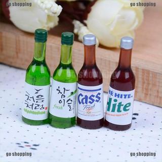 Set 4 Chai Rượu Mini Tỉ Lệ 1 12 Trang Trí Nhà Búp Bê thumbnail