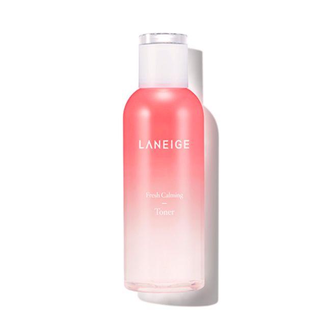 Nước hoa hồng cân bằng, dịu mát da Laneige Fresh Calming Toner 250ml - 2637851 , 1106197601 , 322_1106197601 , 400000 , Nuoc-hoa-hong-can-bang-diu-mat-da-Laneige-Fresh-Calming-Toner-250ml-322_1106197601 , shopee.vn , Nước hoa hồng cân bằng, dịu mát da Laneige Fresh Calming Toner 250ml
