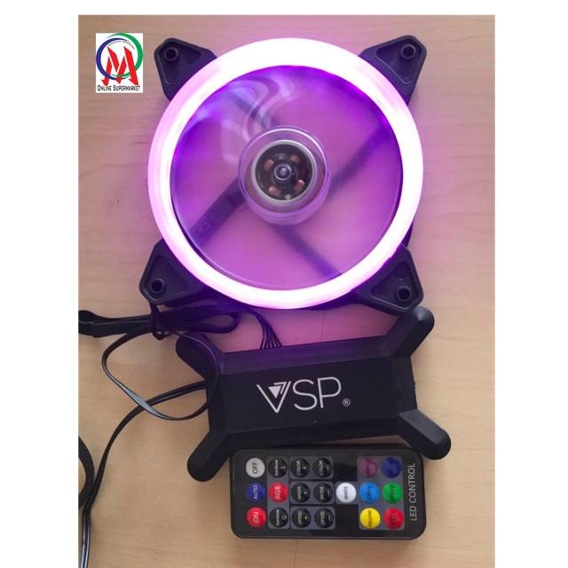 remote và hub fan led rgb