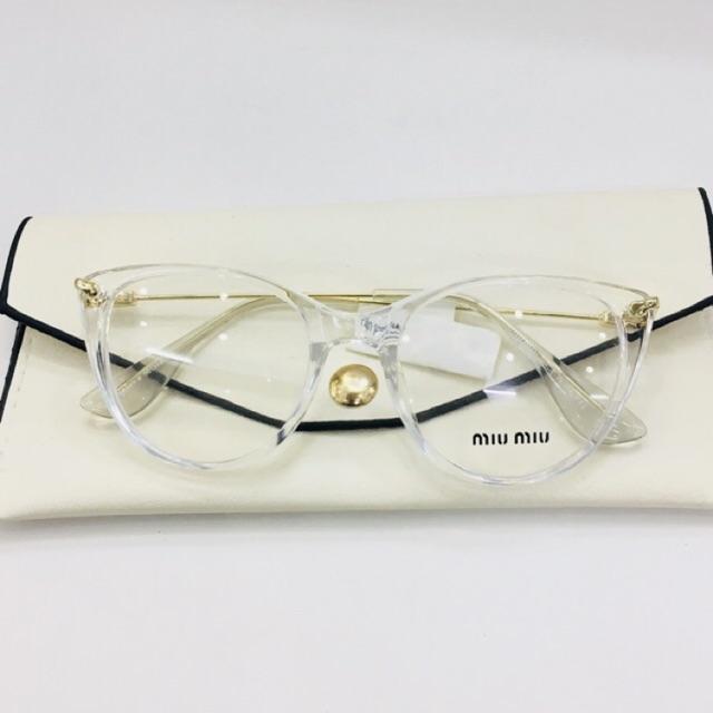 [ ĐỒNG GIÁ ] Gọng kính nữ trắng trong HOT nhất - nhận cắt kính cận , viễn , loạn