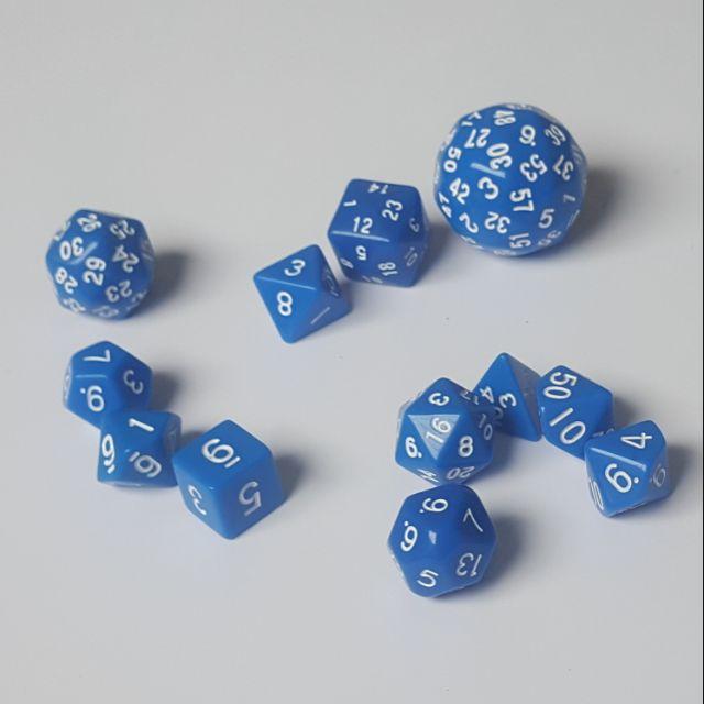 [Tặng kèm 2 túi nhung] Bộ xúc xắc 12 viên