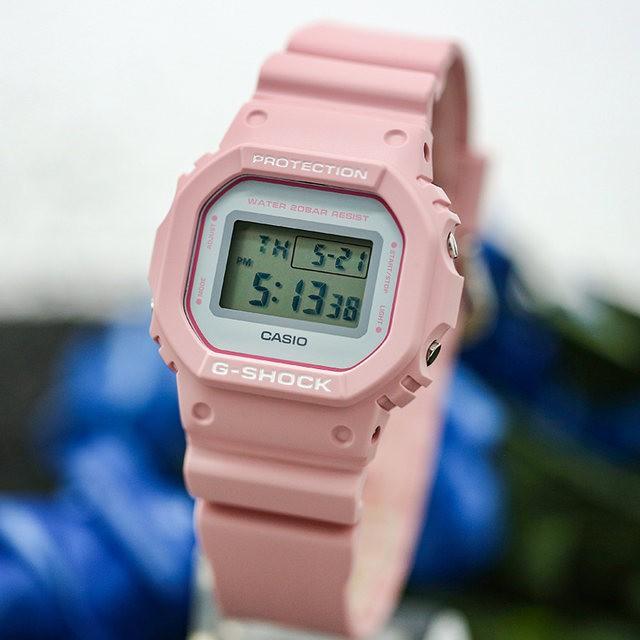 [Mã FARSBR243 giảm 15% đơn 249K] Đồng Hồ Nữ Casio Baby-G DW-5600SC-4DR