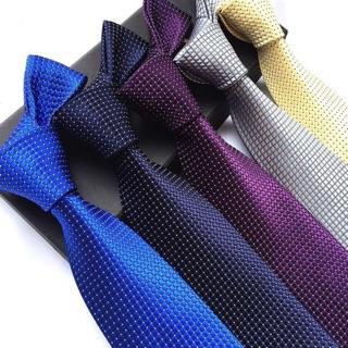 Cà vạt nam bản lớn 8cm Cavat nam trung niên chuẩn