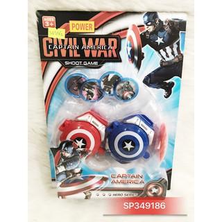 Vỉ đồng hồ 2c sn captain America bắ đĩa 9049-4A – SP349186