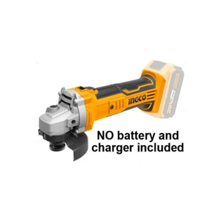 CAGLI1001 Body máy mài pin 20v INGCO (Chưa bao gồm pin xạc)