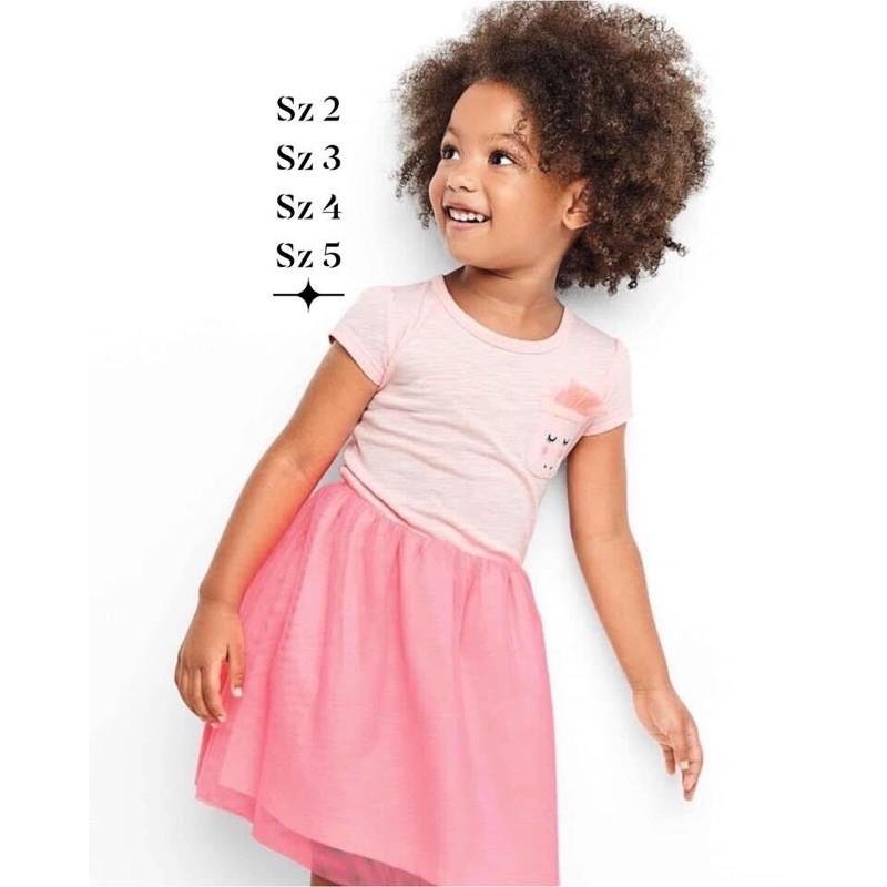 Đầm bé gái carter kim sa sz 2-5T