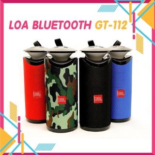Loa Bluetooth Mini💖Xả Lỗ Xin 5 Sao💖Gt112 Không Dây Mini Cầm Tay Có Đèn Led, Nghe Nhạc Hay, Cắm USB, Thẻ nhớ, Jack 3.5