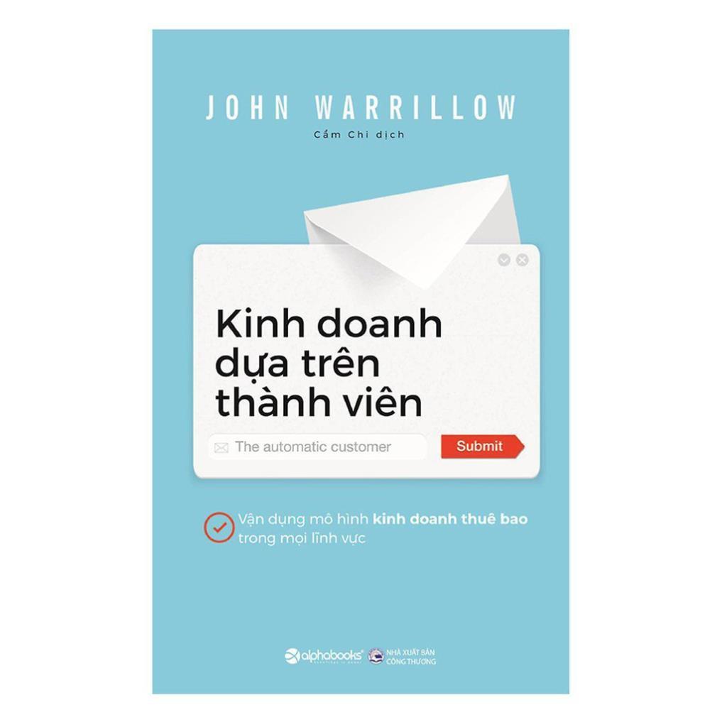 Image result for KINH DOANH DỰA TRÊN THÀNH VIÊN alphabooks