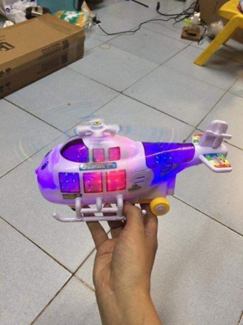Máy bay/Trực thăng không gian lấp lánh cho bé