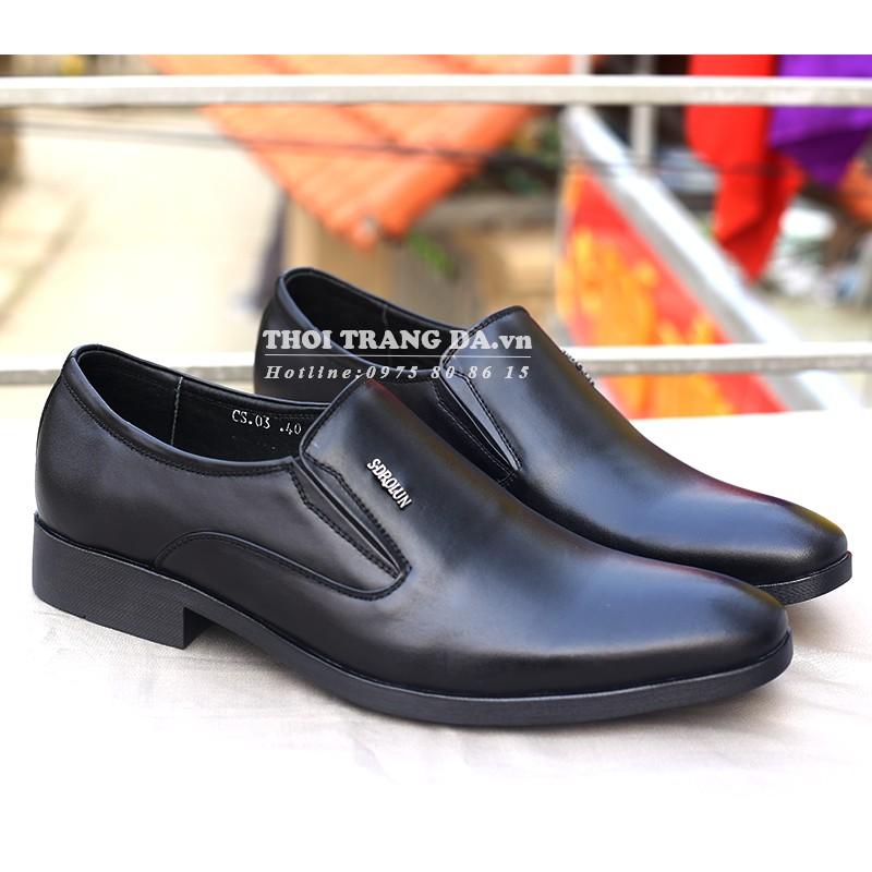 Giày tây da thật sang trọng, lịch lãm - GL124