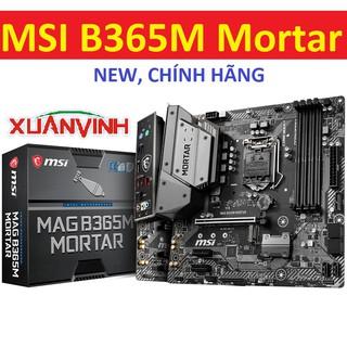 [Mã ELMSHX hoàn 8% xu đơn 500K] Bo mạch chủ MSI B365M Mortar B360M Mortar New Chính Hãng thumbnail