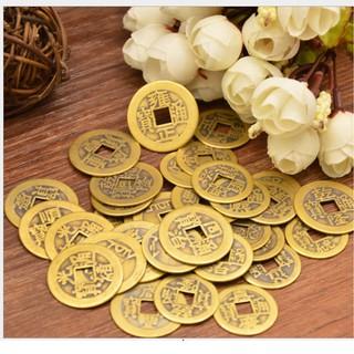 [MAY MẮN] Đồng xu ngũ đế, tiền xu phong thuỷ bỏ bóp ví thumbnail