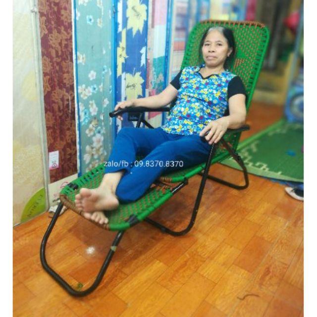 Ghế gấp khung tròn sơn tĩnh điện