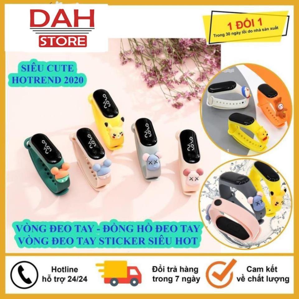 Vòng Đeo Tay, Đồng Hồ Thông Minh Thể Thao Sticker Hình Thú, Được Chọn Mẫu Siêu Hót, Siêu Đẹp, Hàng Độc Quyền Tại Shop