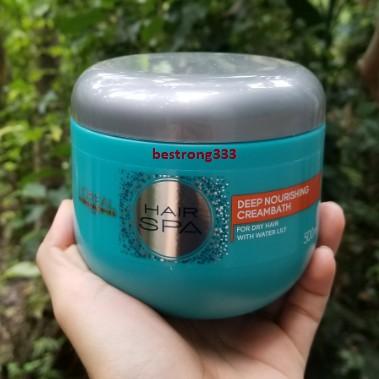 Dầu hấp nuôi dưỡng suôn mượt L'oreal Hair Spa Deep Nourishing Creambath 500ml