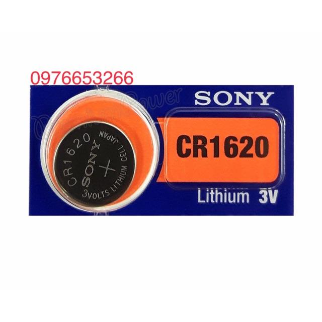Pin cúc áo CR1620 Sony lithium 3V vỉ 1 viên - 13804410 , 1901389342 , 322_1901389342 , 25000 , Pin-cuc-ao-CR1620-Sony-lithium-3V-vi-1-vien-322_1901389342 , shopee.vn , Pin cúc áo CR1620 Sony lithium 3V vỉ 1 viên