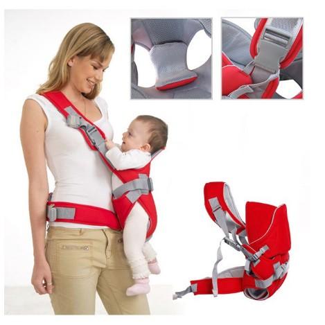 Địu em bé 6 tư thế Baby carrier, Đai địu đa năng nhiều tư thế c