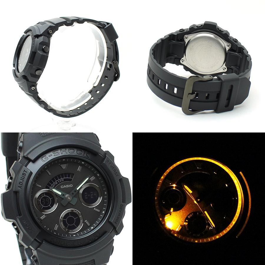 Đồng hồ nam dây nhựa G-SHOCK Casio chính hãng Anh Khuê AW-591BB-1ADR