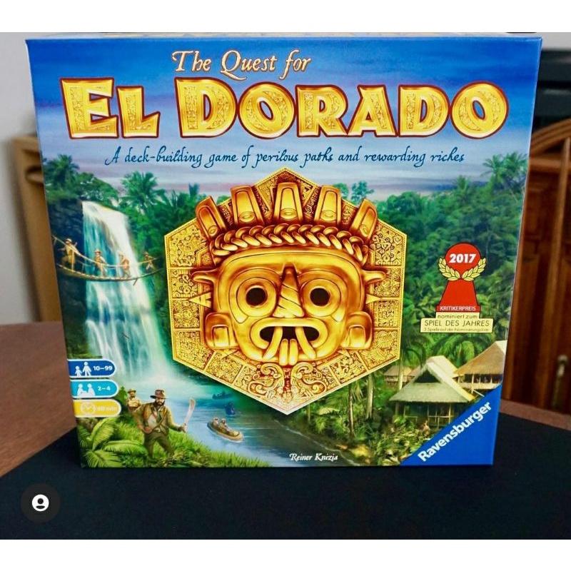 [BOARD GAME] The Quest for El Dorado