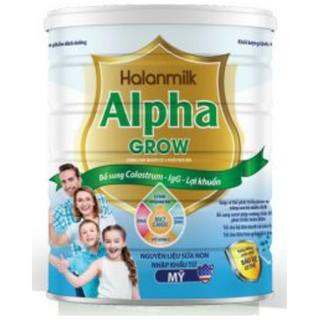 Sữa dinh dưỡng HALANMILK ALPHA GROW
