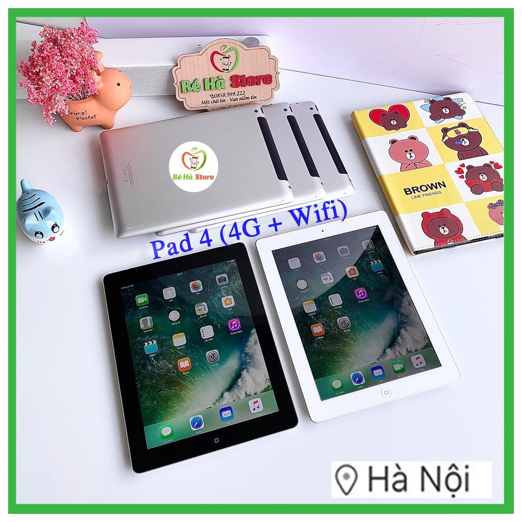 Máy Tính Bảng Pad 4 - 64/ 32/ 16Gb (Wifi + 4G)- Zin Đẹp 99% - Pin Khoẻ - Màn Rentina sắc nét