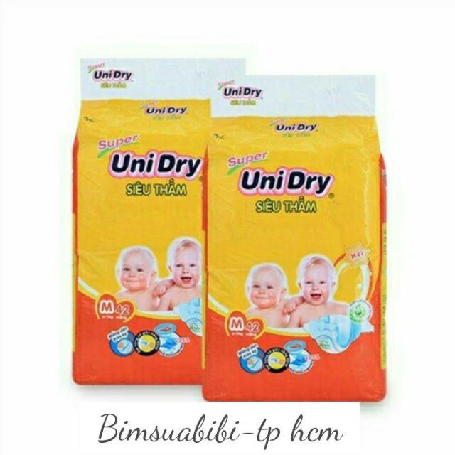 Tã dán UniDry các size S46-M42-L38-XL34