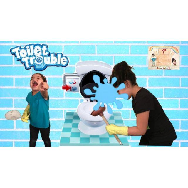 Đồ chơi bồn cầu rắc rối toilet trouble