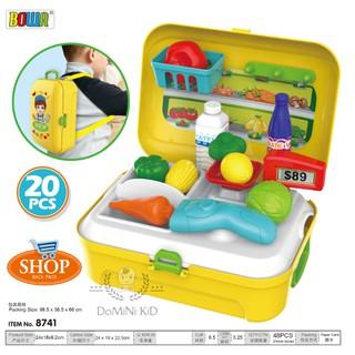 Balo bộ đồ chơi bán hàng thu ngân cashier