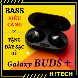 Tai nghe không dây Buds Plus [ Hitech.net ] Tai nghe bluetooth không dây có míc, cảm ứng chạm có sạc không dây