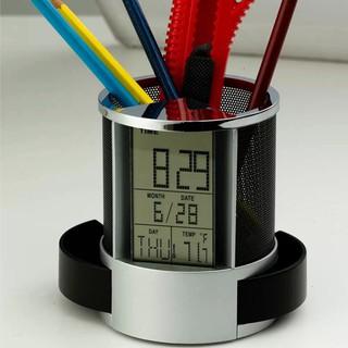Hộp bút FREESHIP Hộp đựng bút có đồng hồ tiện lợi, có chức năng hẹn giờ, chế độ nhắc nhở tiện lợi, âm thanh lớn 4732