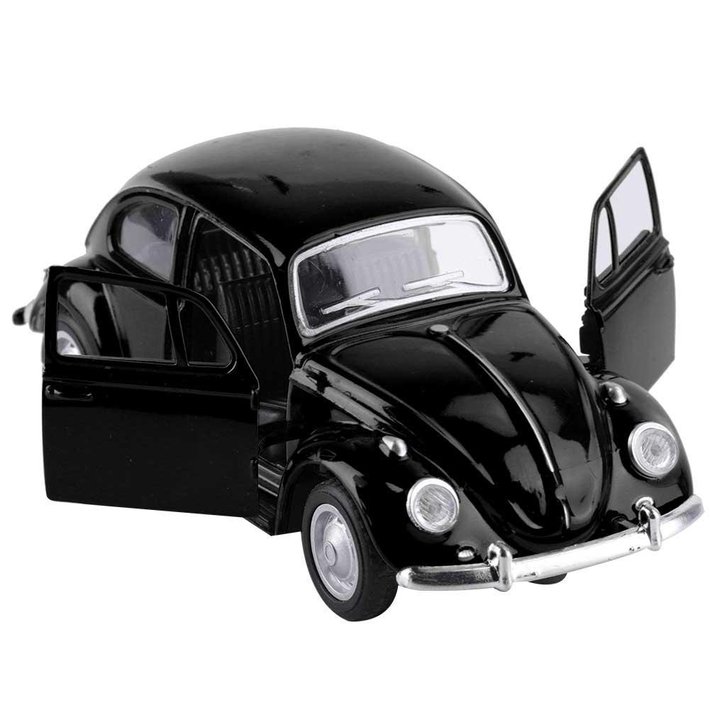 Punkstyle Simulation Alloy Vintage Pull Back Car Model Vehicle Kids Children Educational Toys
