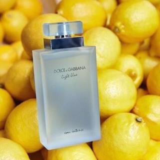 [CAM KẾT CHÍNH HÃNG] Nước Hoa D G LIGHT BLUE INTENSE - Nước hoa nữ, mùi cam chanh thơm mát, dịu nhẹ. Cực kỳ nữ tính thumbnail