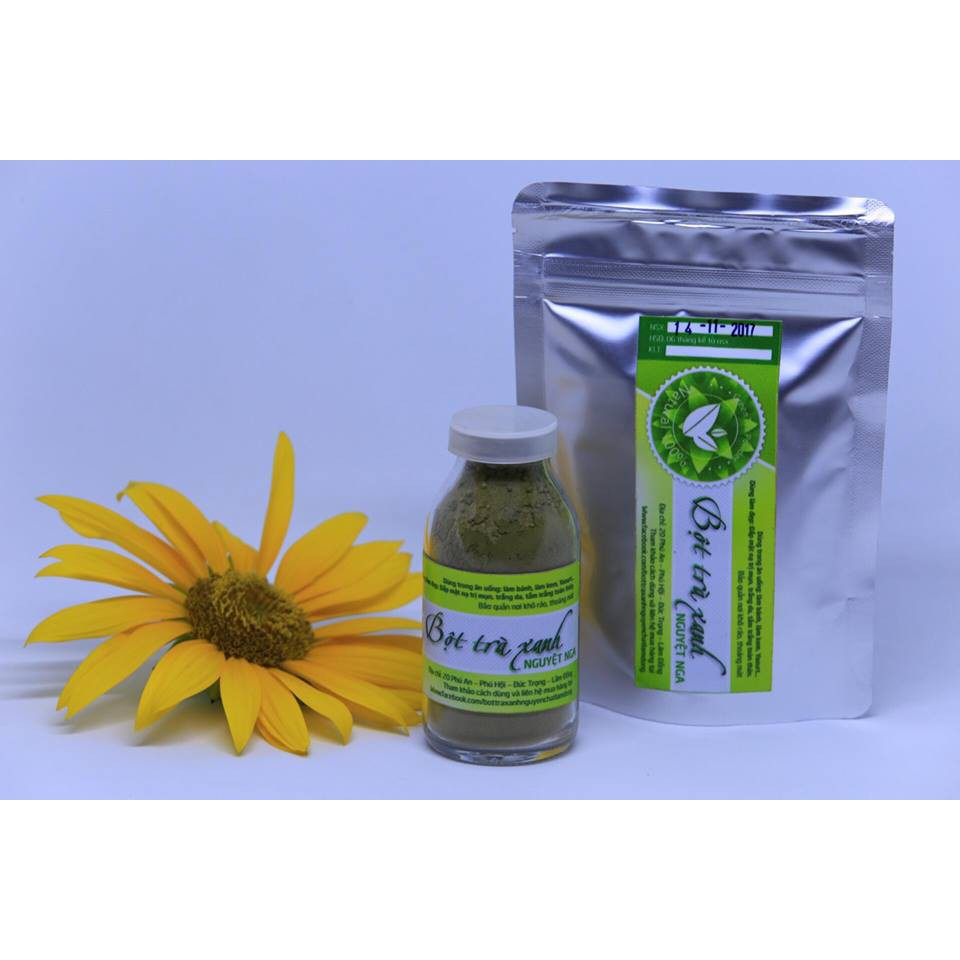 Bột trà xanh Nguyệt Nga 100g