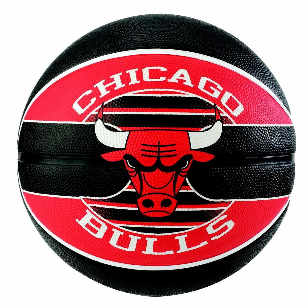 Bóng rổ Spalding NBA Team Chicago Bulls Outdoor size 7