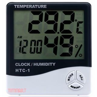 1 Đồng hồ Đo Nhiệt Độ Độ Ẩm Không Khí Trong Phòng HTC-1