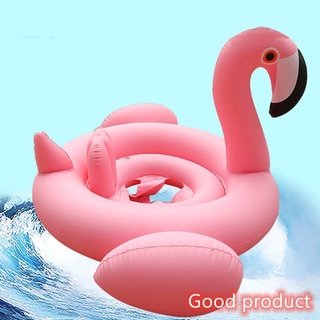 【In stock】 Children Inflatable Pool Toys Swimming Float Seat Cartoon Animals Swim Ring Swimming Boat