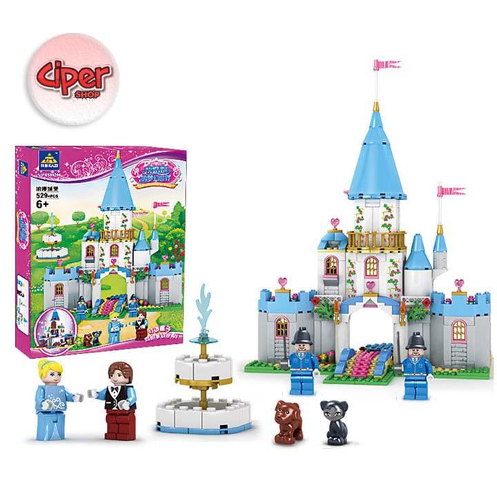 Mô hình lắp ráp lâu đài 529PC - KY98706