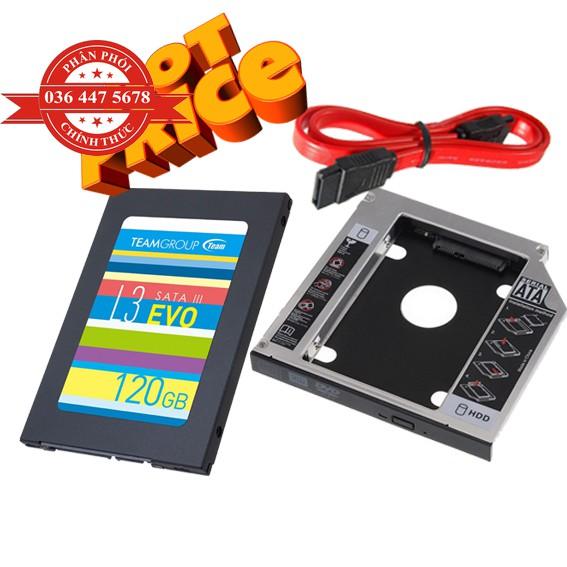 Ổ cứng SSD Team Group L3 EVO Sata III-120GB