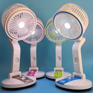 Quạt điện mini,Quạt điện gấp,Quạt tích điện có đèn,Quạt gấp có đèn -Bảo hành uy tín - LỖI 1 ĐỔI 1