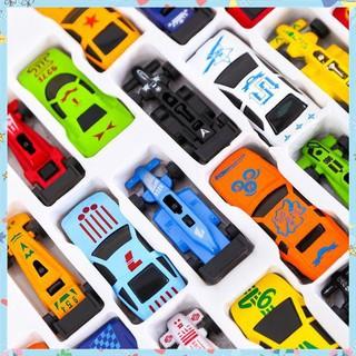 [Hàng Shop] Sét 10 chiếc ô tô nhiều màu cho bé Bán Chạy
