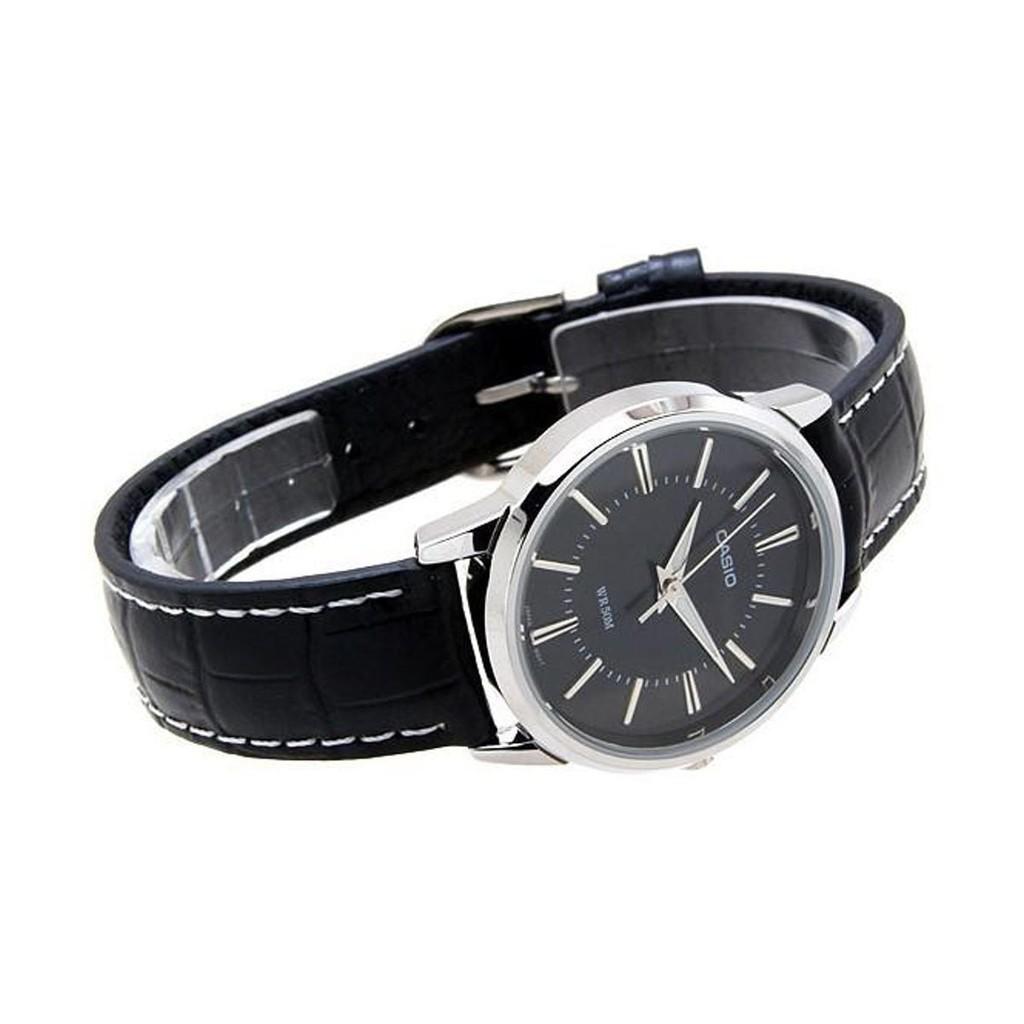HOT Đồng hồ nữ dây da Casio Standard LTP-1303L-7BVDF- Chính hãng có phiếu bảo hành chính hãng và tem chống hàng giả